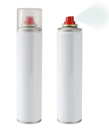 metalic: Sprays isoliert Lizenzfreie Bilder