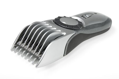 crewcut: Hair trimmer isolated with clipping path Stock Photo