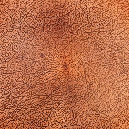 Copper cracked texture photo