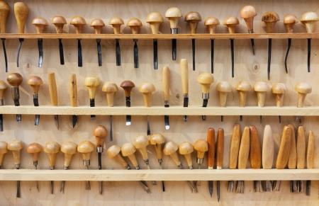 herramientas de carpinteria: Juego de cinceles