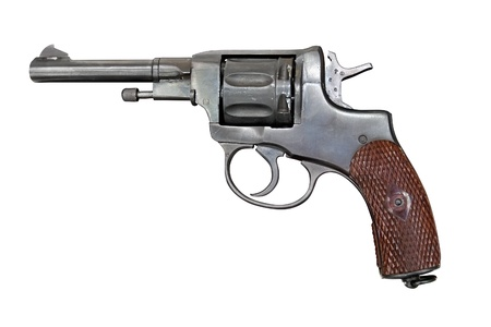 Old Nagant revolver   Stock Photo - 15766029