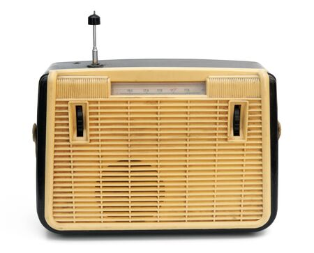 Retro portable radio photo