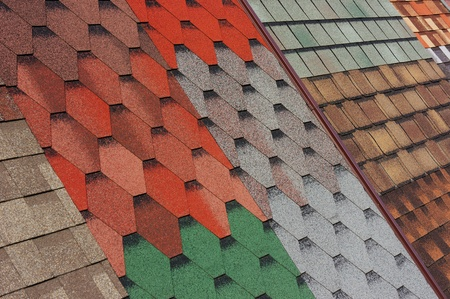 Samples of shingles roof photo