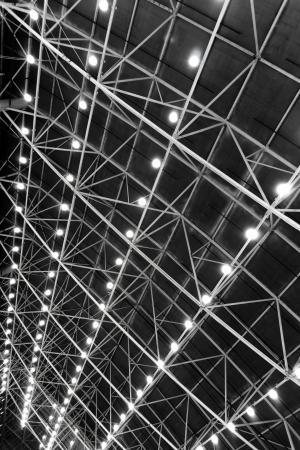iluminacion: Techo con lámparas de textura