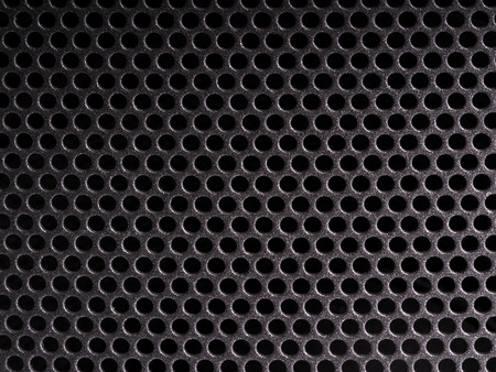 perforated: Perforated surface texture