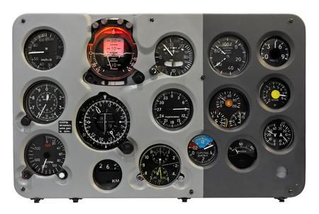 Plane dashboard Stockfoto
