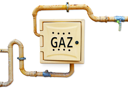 pipework: Gas pipe