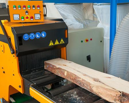 Modern industrial woodworking equipment Stock Photo