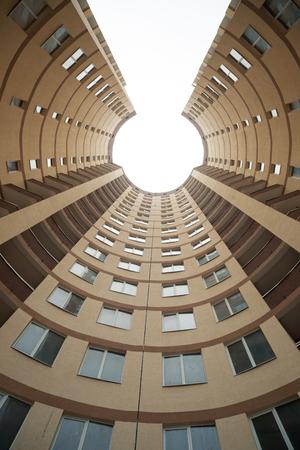 Part of modern building