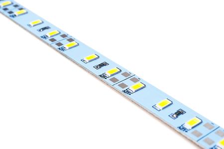 Led diodes strip Stock Photo