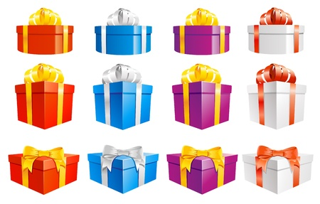Set of gift boxes Stock Vector - 20190097