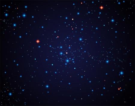 星空、透明度が含まれています  イラスト・ベクター素材