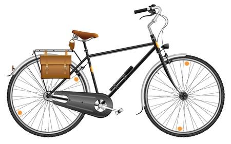 City bicycle Ilustracja