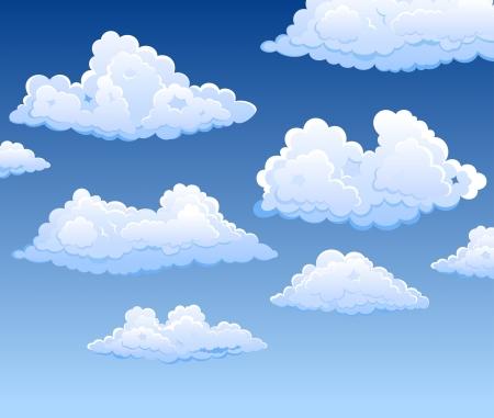 clouds blue sky: Cloudscap