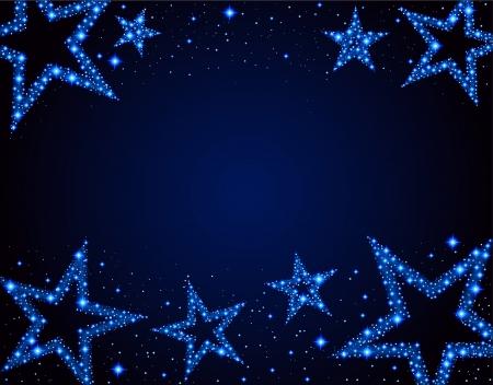 Starry background Illustration