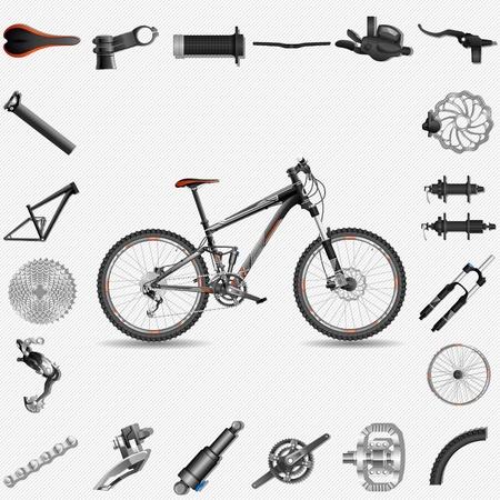 예비의: 부품과 자전거
