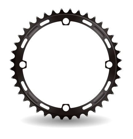 Illustration of chain wheel