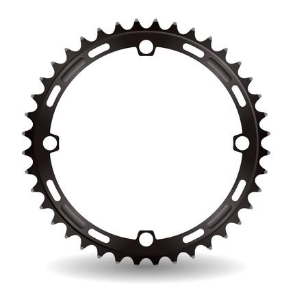 sprocket: Illustrazione della ruota di catena