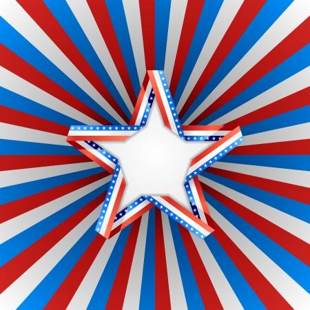 Patriotic background Illustration