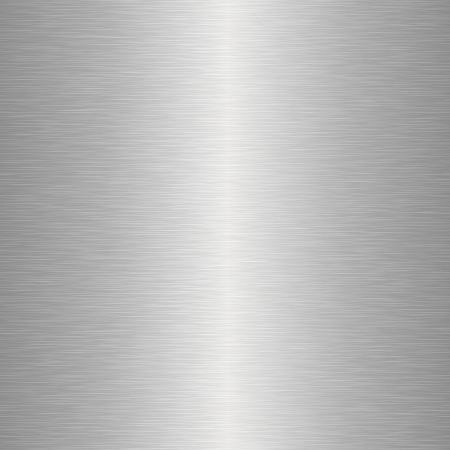 brushed aluminum: Seamless metal texture Illustration