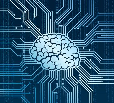 プロセッサの代わりに抽象的な人間の脳