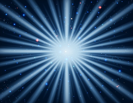 outburst: Star burst in the universe