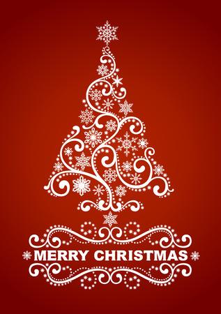 Extracto del árbol de navidad Foto de archivo - 23661936
