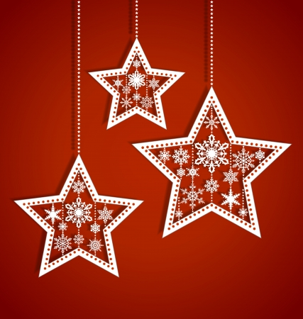 star light: Extensional christas card Illustration