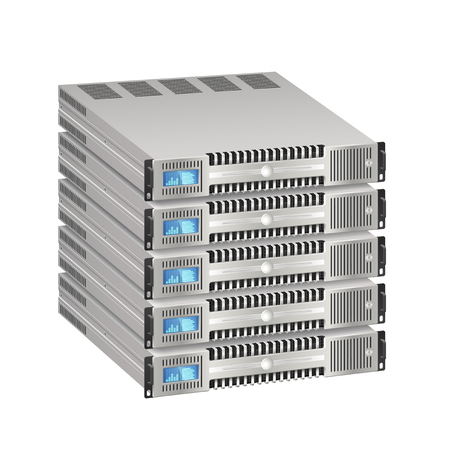 Illustration of server Illustration