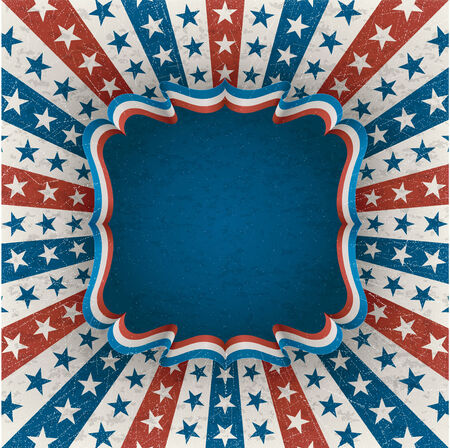 raggedy: Vintage american for 4th of july  contains transparency