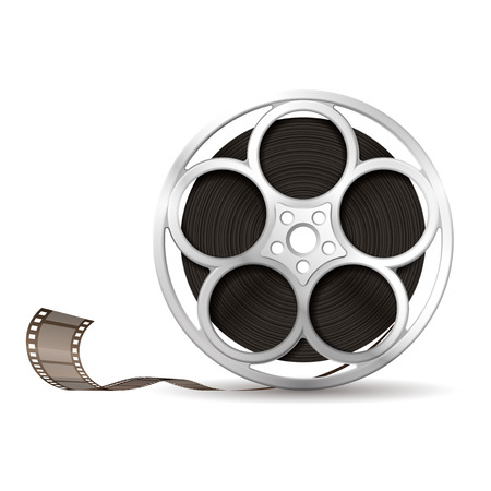 movie projector: Illustration of camera reel