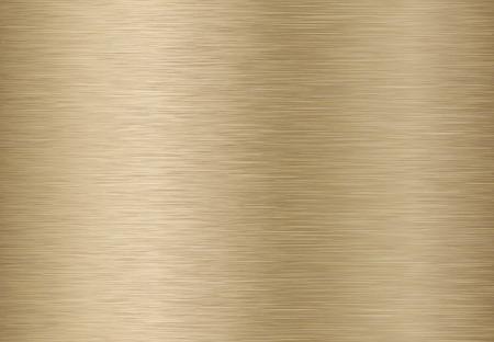 Tło technologii ze złotego, brązowego, szczotkowanego metalu tekstury. EPS 10 zawiera przezroczystość.