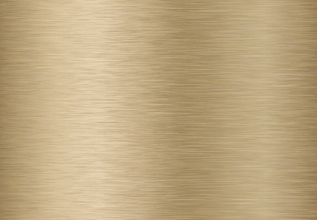 Technology background with golden, bronze, brushed metal texture. EPS 10 contains transparency. Ilustracja