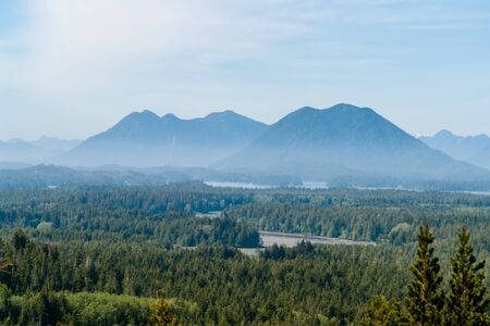 Misty Valley in Tofino - Vancouver island, BC, Canada