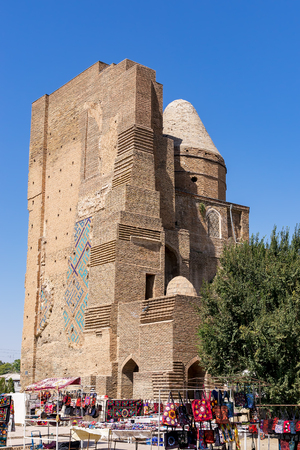 Ruins of Ak-Saray Palace - Shakhrisabz, Uzbekistan. Timurs Summer Palace was planned as the most grandiose of all Timurs constructions.