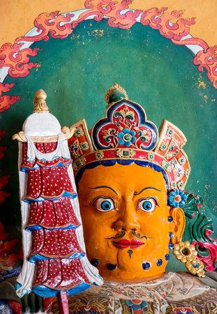 Buddhist staues artwork in Palcho Monaster - Gyantse, Tibet