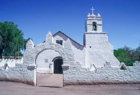 Church of San Pedro de Atacama - Atacama Desert, Chile