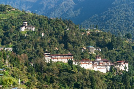 Trongsa Dzong - Bhutan. Trongsa Dzong is the largest dzong fortress in Bhutan, located in Trongsa in the centre of the country.