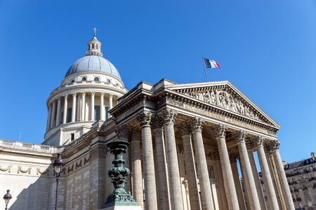 The French Pantheon. It is a secular mausoleum containing the remains of distinguished French citizens.