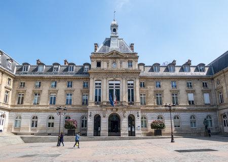 Paris, France, April 30, 2019: City hall of the XV arrondissement in Paris - France Editorial