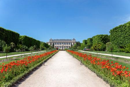 Paris, France - June 1 2019: Jardin des Plantes Editorial