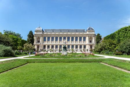 Paris, France - June 1 2019: Jardin des Plantes main botanical garden Editorial