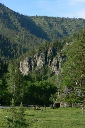 to altai: Mountain Altai. Stock Photo