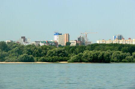 horizont: The City. Horizont. Stock Photo