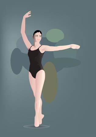overture: single balerina