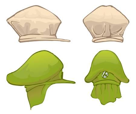hatband: two hat Illustration