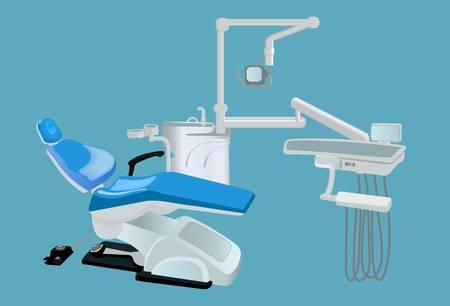 sillon dental: unidad dental Vectores