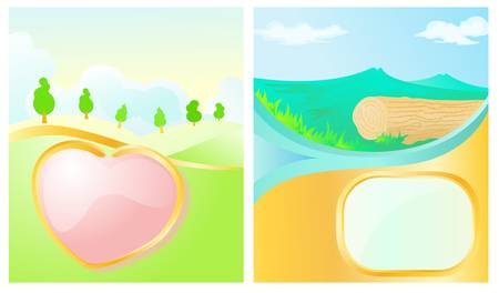 landscape  Stock Vector - 13441454