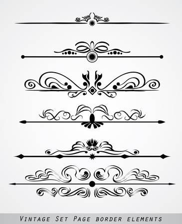 grecas: un conjunto de adornos borde de p�gina