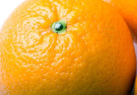 Fresh juicy orange fruit closeup